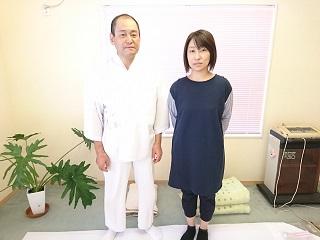 長坂幸美さんと先生.JPG
